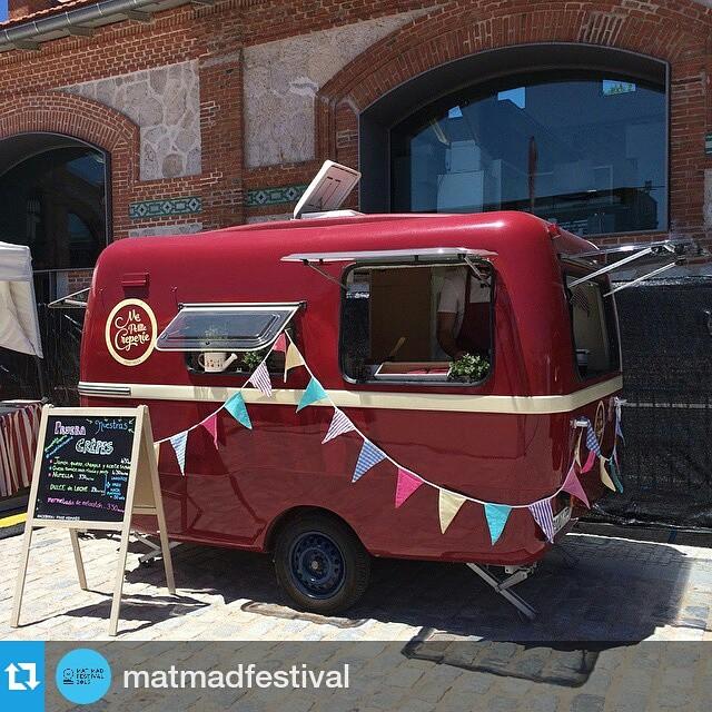 #Repost @matmadfestival・・・Enamorados de @mapetitecreperie  No os vayáis sin probar sus creppes!!! Un Día Europeo de la Música muy dulce en @mataderomadrid
