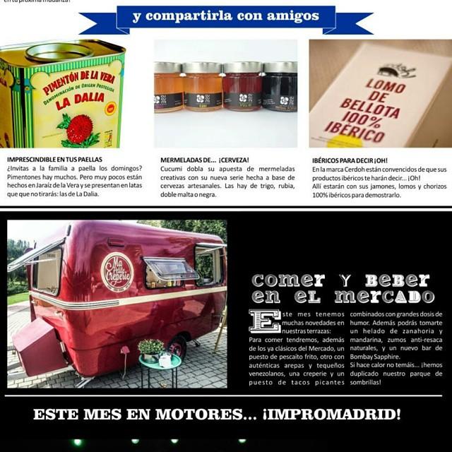 Se acerca julio y una vez mas estaremos en @mercadodemotores_oficial Scream, shout & eat crepes !!!! #julio #verano #mercadomotores #ferrocarril #Madrid #igersmadrid #crepes #foodtruck #caravana #vintage #70s #deco #gastronomia #gastroblog #news #eat #ñamñam #ontheroad