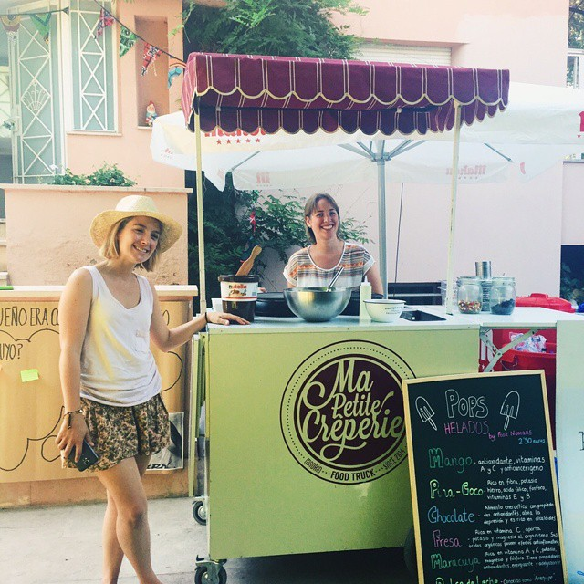 Yummy crepes!!! Summer market @masporellos #crepes #summer #summermarket #mapetitecreperie #ong #africa #masporellos #benefico