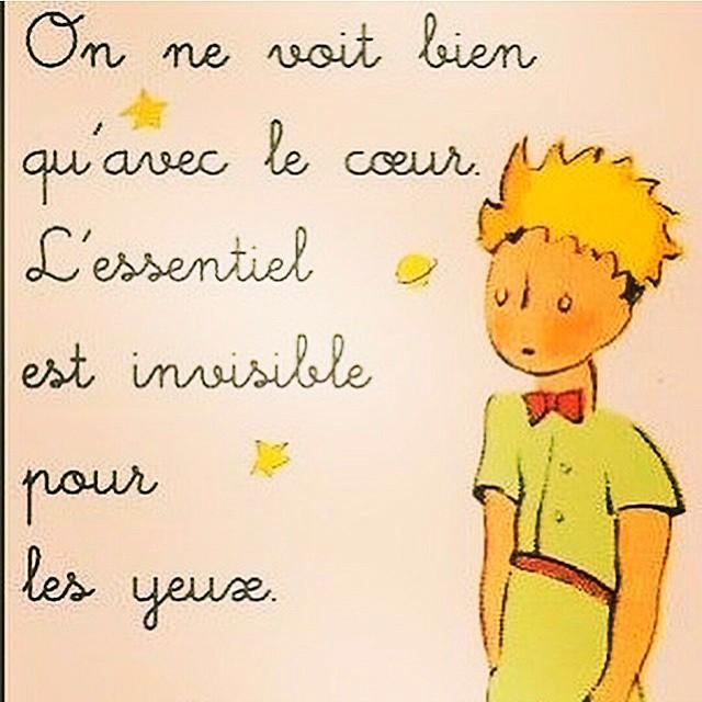 Solo vemos bien con el corazon, lo esencial es invisible a los ojos.#buenasnoches #BuenaVibra #nuite #sabado #coeur #libros #quotes #frases #happythoughts #happiness #happy #invisible #corazon #goodnight #petitprince