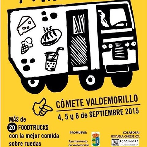 Next stop!!! Come crepe with us#streetfood #foodtrucks #madrid #valdemorillo #planesenmadrid #ñamñam #food #crepes