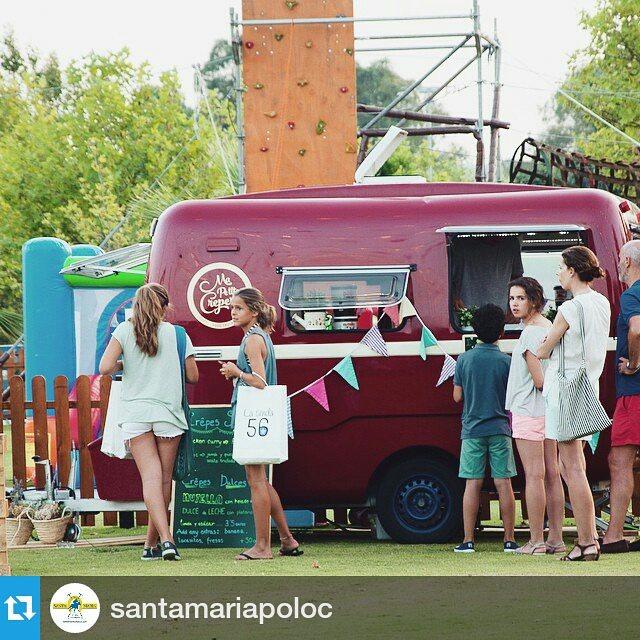 Domingo en el polo de @santamariapoloc zona foodtrucks entrecancha A#comida #creperie #crepes #Sotogrande #polo #SantaMaríaPoloClub #polosotogrande #FoodTruckPoloExperience