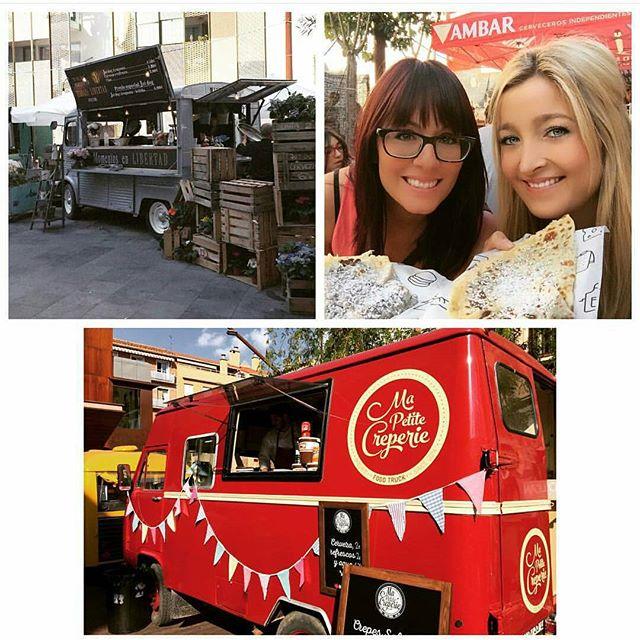 Bye bye Zaragoza!! Hasta pronto amigos!!! #zaragoza #rocks #igerszgz #aragon #catatruck #lasarmas #byebye #happypeople #crepes #nutella #banana #felices #felicidad #foodies #foodporn #food #deli #foodtruck
