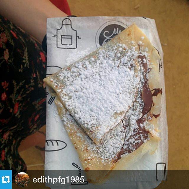 Good crepes, happy people#crepes #nutella #happy #zaragoza #catatruck #mapetitecreperie #lasarmas #nutellalovers #foodtruck #streetfood #gourmet #madewithlove
