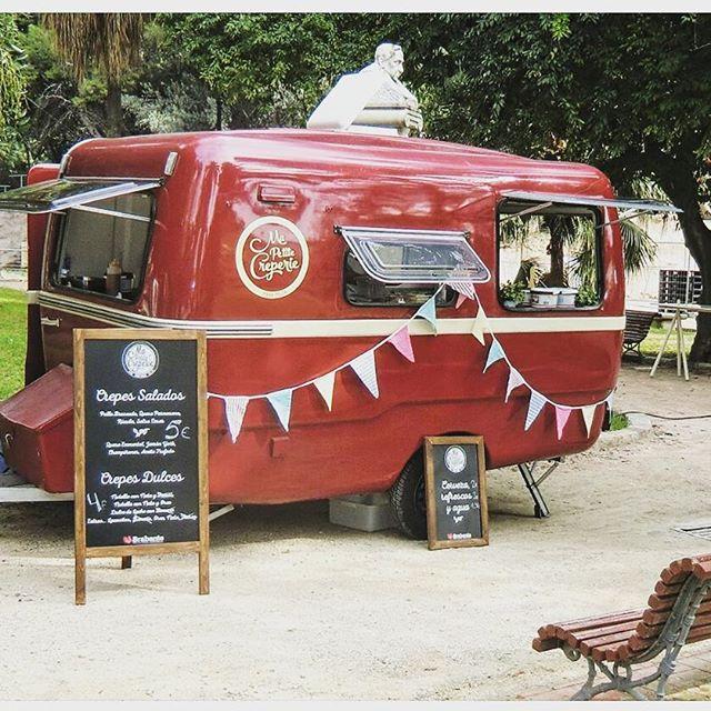 Nuestra Querida ya esta arreglada despues de meses en el taller.#crepes #caravana #eventos #bodas #vintage #foodtruck #mapetitecreperie #ontheroad #events #wedding #crepe #madrid #igersmadrid