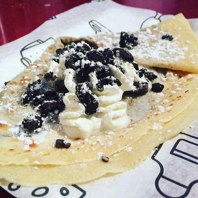 Nutella, nata y oreo#ñam #deli #foodtruck  #instagood #instafood #crepe #nutella  #food #oreo