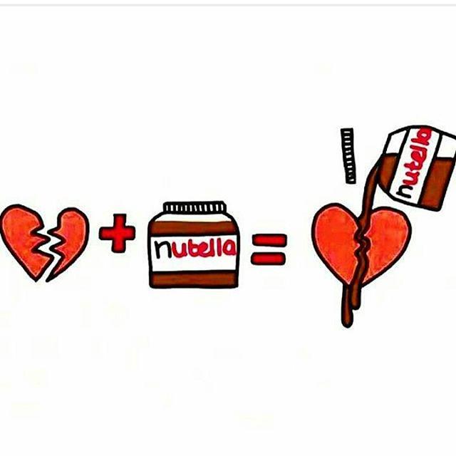 Somos tan fans de la nutella como nuestros amigos de @vidamadrid #nutella #chocolate #crepes #choco #sweet #image #ilustracion #ñam #food #foodporn #deli #niños #amor