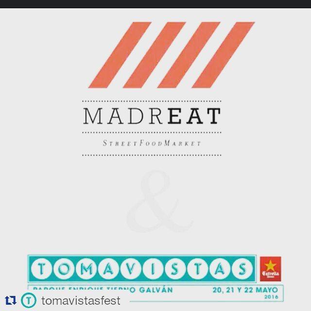 Nos vamos de festival!!! #festival #musica #tomavista #foodtruck #music #conciertos #madrid #gastronomia #sobreruedas #ñam #deli #superfood #food #foodcaravan #crepes #nutella