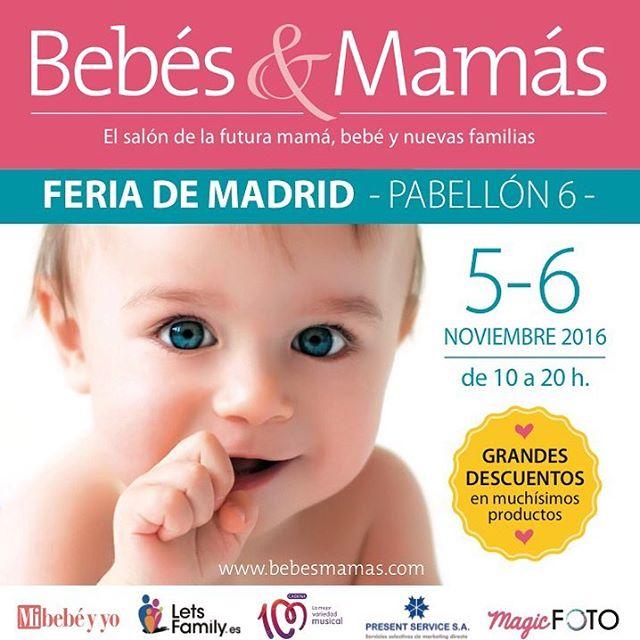 🏼 b e b é s &  m a m á s 🏻 Nos vemos este 5 y 6 de noviembre en IFEMA en la feria para la futura mamá, bebé y nuevas familias!! www.bebesmamas.com  #ifemamadrid #ifema2016 #bebesymamás #MaPetiteCreperie #Crepes