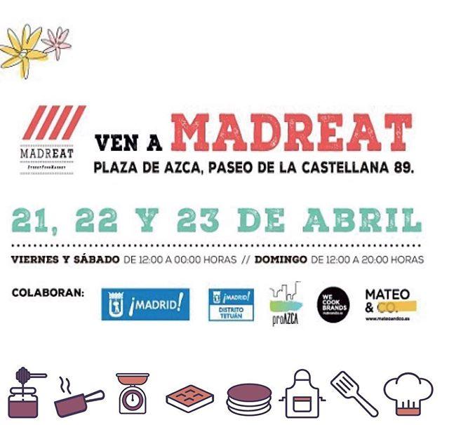 En solo una semanita os estaremos esperando en @madreatmarket  , se acercan unos planazossss … ¿y vosotros ya tenéis algo en mente?…#MapetiteCreperie #comida #yummyfood #igersmadrid #food #foodie #delicioso #ÑamiÑamiMapetite #yummy #foodporn #foodgram #ConoceMaPetite#BonJourMadrid #Crepe #CrepeLove #Madreat #Madrid #España