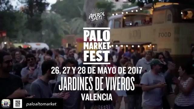 ¡Atención Valencia!  , estamos muy muy contentos porque este finde os acompañaremos en #PaloMarketFest  26, 27 y 28 de Mayo en Valencia.Repost from @paloaltomarket using @RepostRegramApp – Un pequeño recordatorio de lo que moló Palo Market Fest el año pasado en los Jardines de Viveros de Valencia ️ El 26, 27 y 28 de Mayo volvemos a la terreta ️ Song by @maiavidal