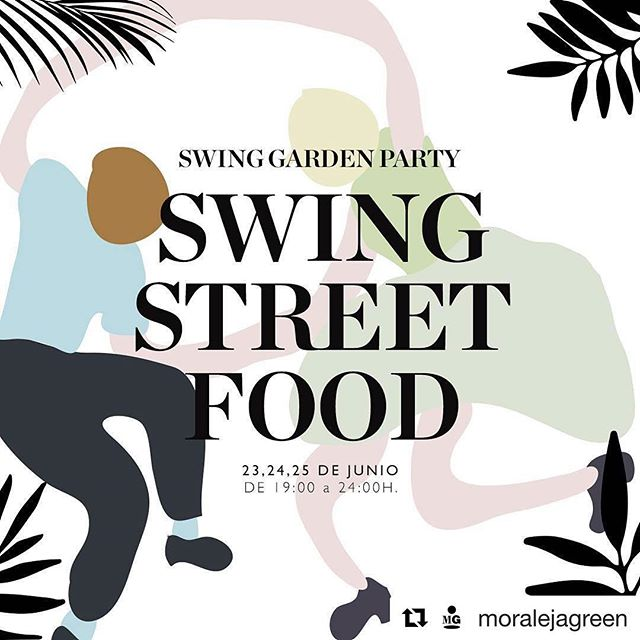 ¿Que plan tenéis vosotros? #Repost @moralejagreen (@get_repost)・・・¡Ven a disfrutar a la #moralejagreen de las Street Food que hemos preparado con motivo de la Swing Garden Party y disfruta de todos los sabores que podrá encontrar! #gardenpartymg #Madrid #foodielife #streetfood #foodtruck #baile #swing